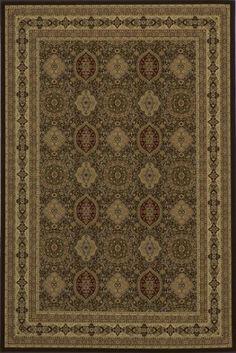 MOMENI ROYAL -RY-01 Brown 4- Brown TRADITIONAL RUG$241.80
