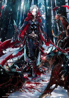 +NeverenD: Red Hood+ by VanRah
