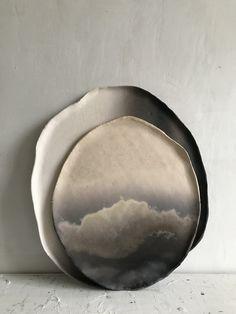 smoke fired ceramics by Elvis Robertson www.elvisrobertson.co.uk