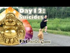 #FatManDoGuru #FatManDo Today I wanted to kick up the intensity a notch. So I stopped and did a few suicides. If you are familiar… the name is perfect for this exercise, as you end feeling drained! Back and forth, and each succession go out a little further before you turn to come back to the starting point.