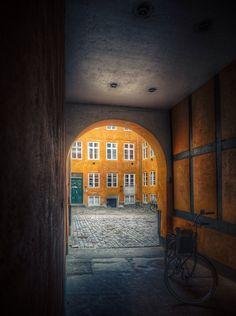 Nyhavn Back Yard, Copenhagen