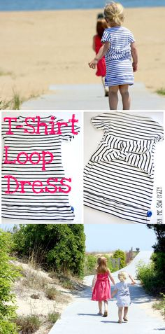 T-Shirt Loop Dress