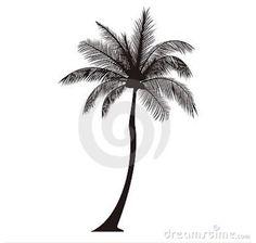 Simple palm tree