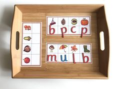 Beginning Letter Sound of Autumn Objects
