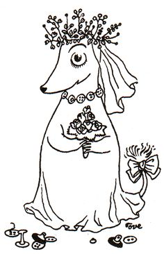 Do you know this Moomin character? More about this character and other not so usual Moomin characters HERE!