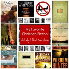 Christian Fiction Recommendations - No Amish Romance