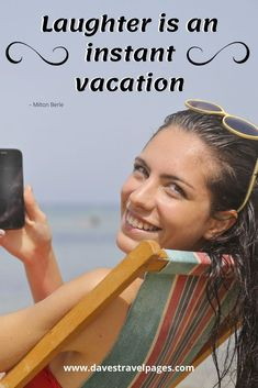 It's time to get in the mood for summertime with these summer vacation quotes! 50 vacation and summertime quotes to inspire fun in the sun! Summer Vacation Quotes, Milton Berle, Get In The Mood, Weekend Breaks, Best Vacations, Day Trip, Travel Quotes, Travel Inspiration, Best Quotes