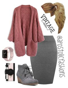 """Apostolic Fashions #1863"" by apostolicfashions on Polyvore featuring WearAll, Chicwish, Dr. Scholl's and Kate Spade"