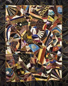 Catherine Mazyck crazy quilt