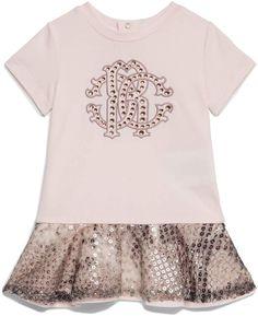Roberto Cavalli Snake Print Logo Dress Dress Outfits, Kids Outfits, Dresses, Cavalli Dress, Baby Dior, Print Logo, Roberto Cavalli, Snake Print, New Dress