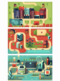 Commerce in the Future. Infographic on Behance