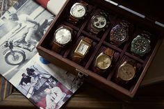 """""""I am particularly attached to my Submariner Hulk, my very first Rolex. The other model that's truly special is a Rolex Daytona 6263 from 1979, a Paul Newman. It was a special gift I received from Carolina for our wedding."""" Paul Newman, Rolex Daytona, Brunello Cucinelli, Wood Watch, Special Gifts, Our Wedding, Hulk, Model, Wooden Clock"""