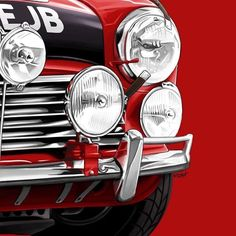 Mini Cooper Classic, Classic Mini, Classic Cars, Mini Coopers, Size Matters, Commercial Vehicle, Mini Me, Monte Carlo, Rally