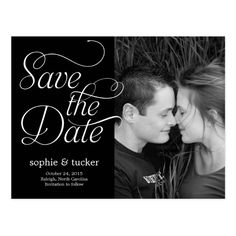 Charming Script Save The Date Card Simple Wedding Invitationswedding Invitations Onlinewedding