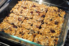 Healthier Lactation Granola Bars- Gonna try these!!