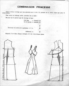 the 1950s- 1951 princess slip pattern | Flickr - Photo Sharing!