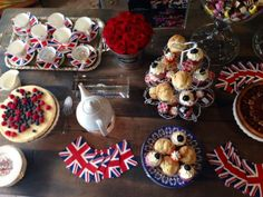 Timothy Oulton || Bristish afternoon tea   #heritage #queen #birthday #buffet #food #ideas www.timothyoulton.com/usa/en/to/trooping-the-colour/