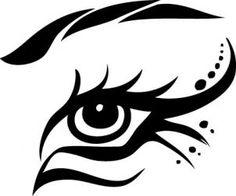 Tribal Eye step-by-step