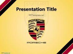 Free Porsche PPT Template