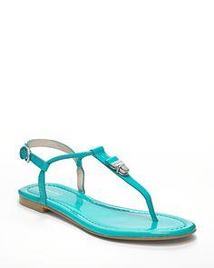 COACH Sandals - Rosati Thong Pushlock | Bloomingdale's
