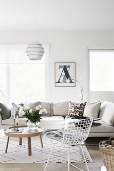 Olohuone / Livingroom, Scandinavian interior