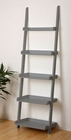 Found it at Wayfair - 5 Tier Ladder Leaning Bookcase Black Ladder Shelf, Ladder Shelf Decor, Ladder Display, Inexpensive Home Decor, Cute Home Decor, Cheap Home Decor, Wall Bookshelves, Ladder Bookcase, Wall Shelves