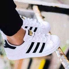 """Adidas"" Fashion Shell-toe Flats Sneakers Sport Shoes White Black Golden For wom. - - ""Adidas"" Fashion Shell-toe Flats Sneakers Sport Shoes White Black Golden For women ""Adidas"" Fashion Shell-toe Flats Sneakers Sport Shoes White Black G. Adidas Shoes Women, Nike Women, Adidas Sneakers, White Addidas Shoes, Adidas Classic Shoes, Black Adidas Shoes, White Shoes Outfit Sneakers, Gold Adidas, Running Shoes"