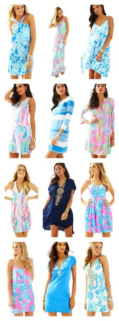 Cute graduation dresses from the Lilly Pulitzer Summer 2016 Collection plus a handful of free Memorial Day gifts with purchase!