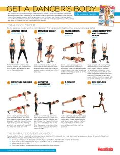 Ideas strength training for dancers workout - Fitness and Exercises Dancer Body Workouts, Dancers Body, Dancer Workout Plan, Dance Workouts, Body Exercises, Cardio Workouts, Workout Exercises, Dancer Stretches, Barre Workout