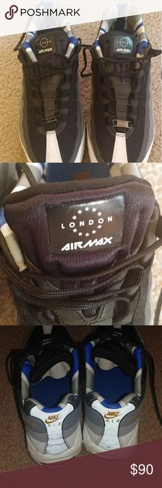 89574c1c5aa5 Air max 95 london QS Clean only wore once Nike Shoes Athletic Shoes Air Max  95