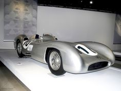 1954 Mercedes-Benz W196 at the Petersen Museum, photo ©laura l. sweet