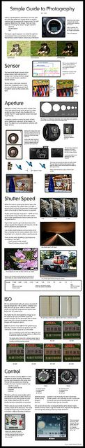 Simple Guide To Photography by G. Juans by carissapod :: the science factory, via Flickr