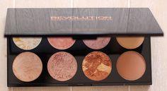 WIN: Makeup Revolution blush palette Golden Sugar