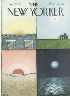 The New Yorker - Monday, May 17, 1976 - Issue # 2674 - Vol. 52 - N° 13 - Cover by : Arthur Getz