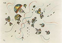 Last watercolour, 1944, Wassily Kandinsky    Size: 26x35 cm  Medium: watercolor on paper