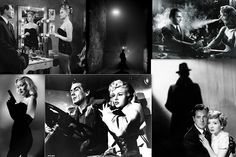 Film Noir Collage How film noir originated Classic film noir developed during and after World War II, taking advantage . Classic Film Noir, Classic Films, Turner Classic Movies, Bing Images, Collage, World, Fictional Characters, Art, Art Background