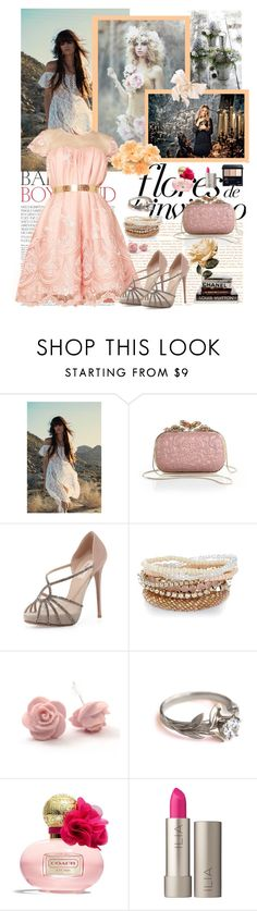 """""""Calling all fairies"""" by magictrickinwonderland ❤ liked on Polyvore featuring Wild Rose, M&S, Nina Ricci, Valentino, Coach, Ilia and Shiseido"""
