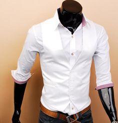 Contrast Gentleman Mens Vest bridesman vest groomsman vest Christmas gift Custom made 1026. $29.00, via Etsy.
