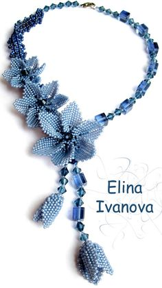 Beautiful beaded jewelry by Elina Ivanova