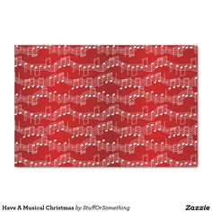 Have A Musical Christmas Tissue Paper