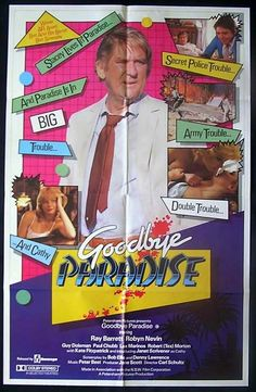 Goodbye Paradise With Ray Barrett As A Hard Boiled Detective An Australian Film Noire 1983