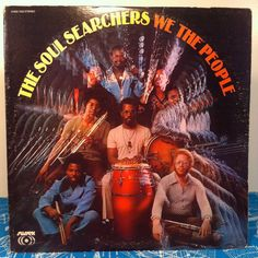 The Soul Searchers We The People Vinyl Record 1972 Sussex LP Funk Soul Breaks Samples
