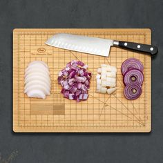 Obsessive Chef Cutting Board, $22, now featured on Fab.