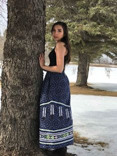 Ribbon skirt handmade by Judy Azure @beyondbuckskin