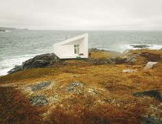 Another of the artist studios on Fogo Island