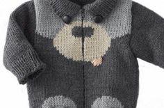 Best 11 Ravelry: pattern by Phildar Design Team – SkillOfKing. Boys Knitting Patterns Free, Baby Cardigan Knitting Pattern Free, Crochet Baby Cardigan, Knit Baby Sweaters, Crochet Baby Hats, Knitting For Kids, Sweater Knitting Patterns, Knitting Designs, Baby Boy Cardigan