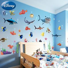 Disney Finding Nemo Characters Wall Decal