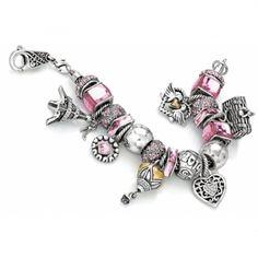 Love Memories Charm Bracelet  available at #Brighton