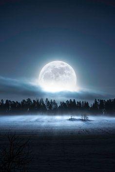 Moon by Ulf Härstedt   via Tumblr