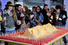 dune de sable comestible - alplusjf-  / #food_design, design culinaire